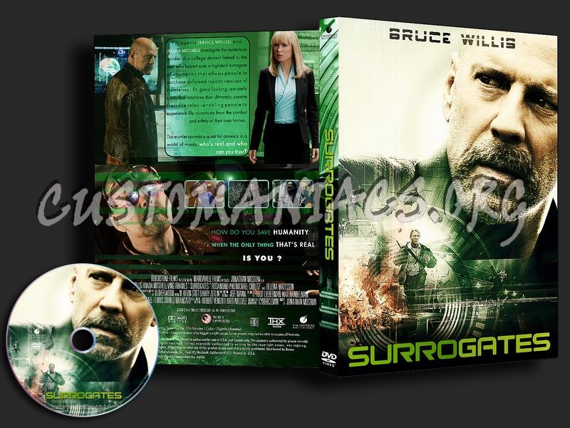 Surrogates dvd cover