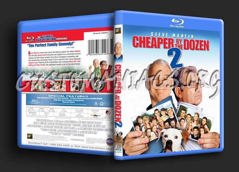 Cheaper By The Dozen 2 blu-ray cover
