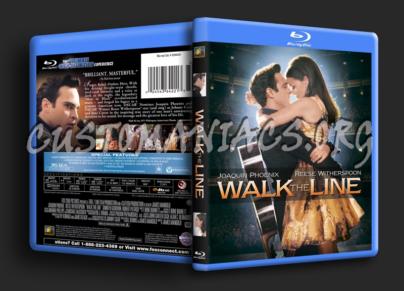 Walk the Line blu-ray cover