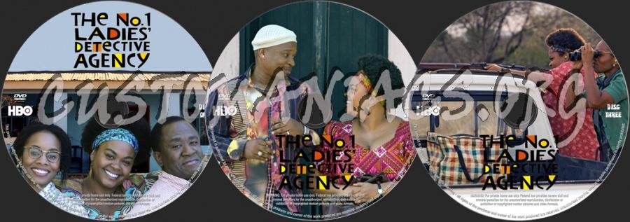 The No. 1 Ladies' Detective Agency dvd label