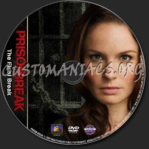 Prison Break: The Final Break - TV Collection dvd label