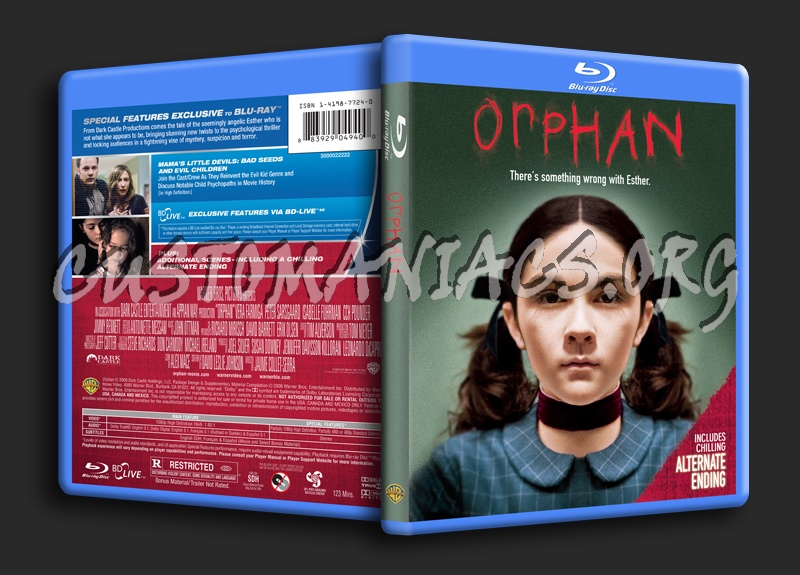 Orphan blu-ray cover