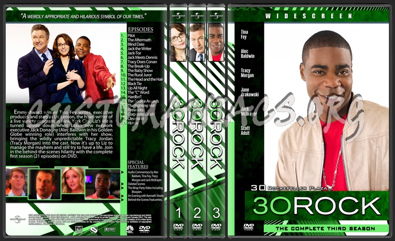 30 Rock dvd cover