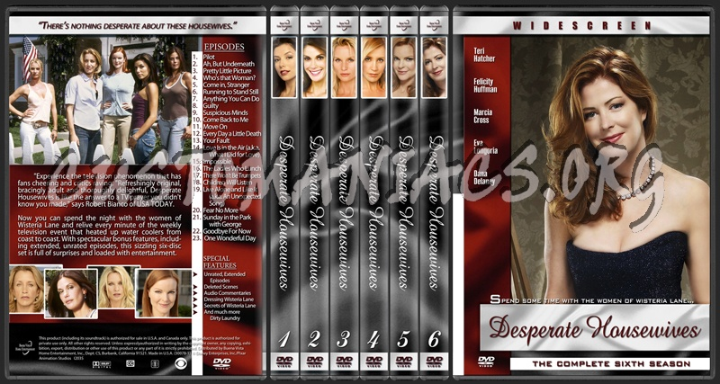dvd covers labels by customaniacs view single post desperate housewives. Black Bedroom Furniture Sets. Home Design Ideas
