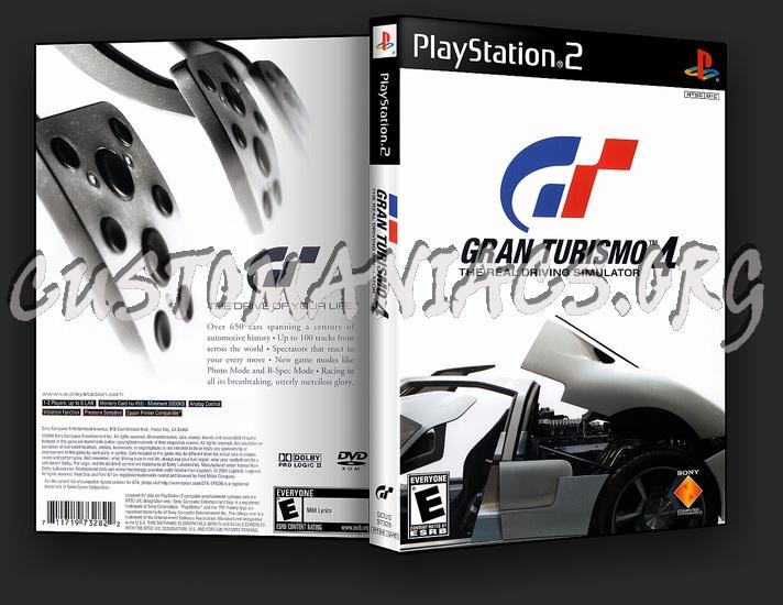 Gran Turismo 4 dvd cover