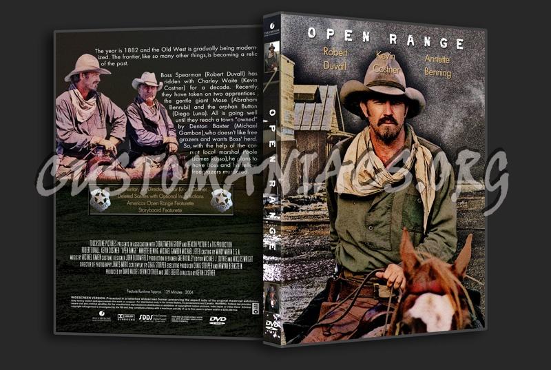 Open Range dvd cover