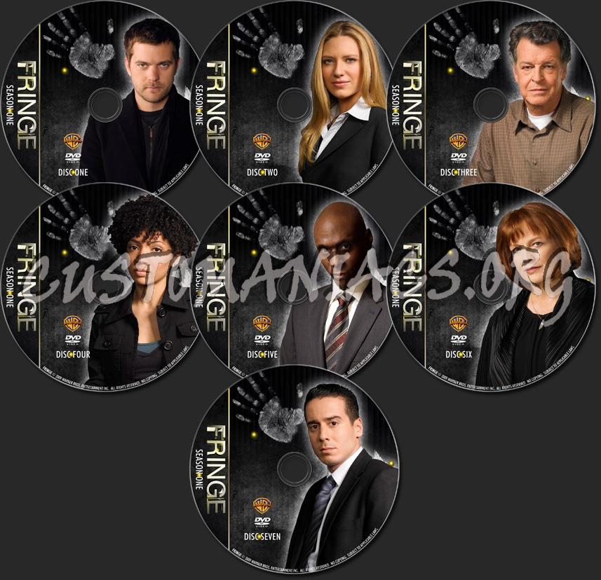 Fringe Season 1 - TV Collection dvd label