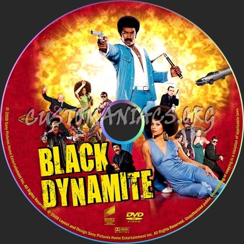 Black Dynamite dvd label