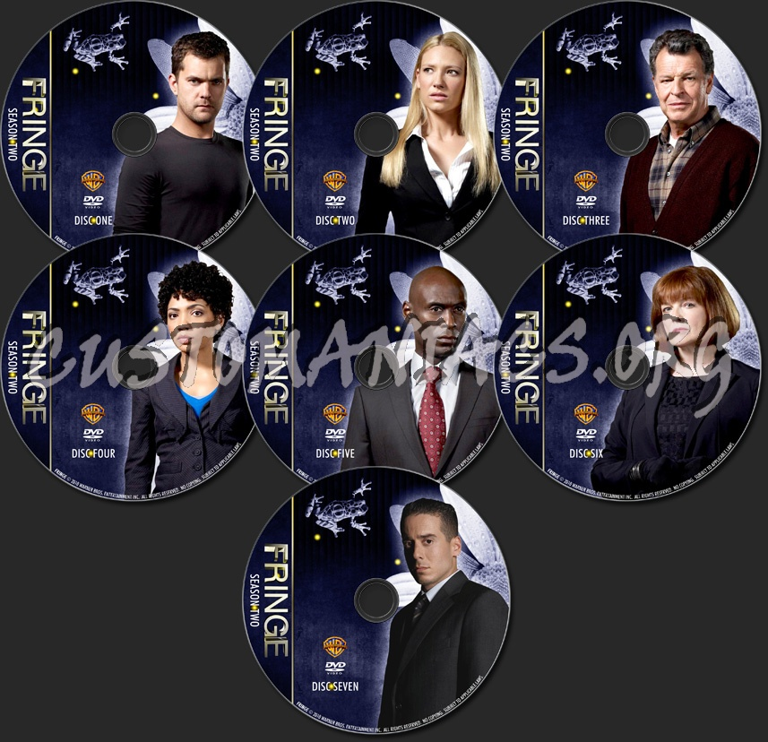 Fringe Season 2 - TV Collection dvd label