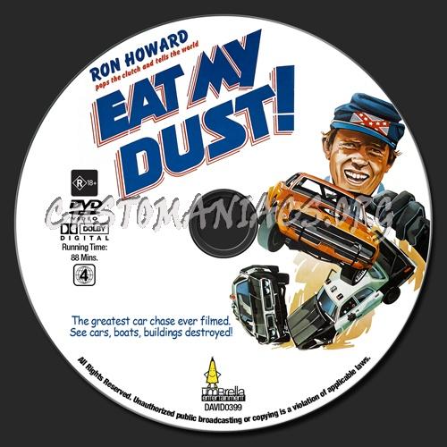 Eat My Dust dvd label