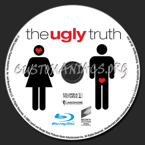 The Ugly Truth blu-ray label