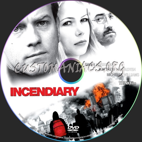 Incendiary dvd label