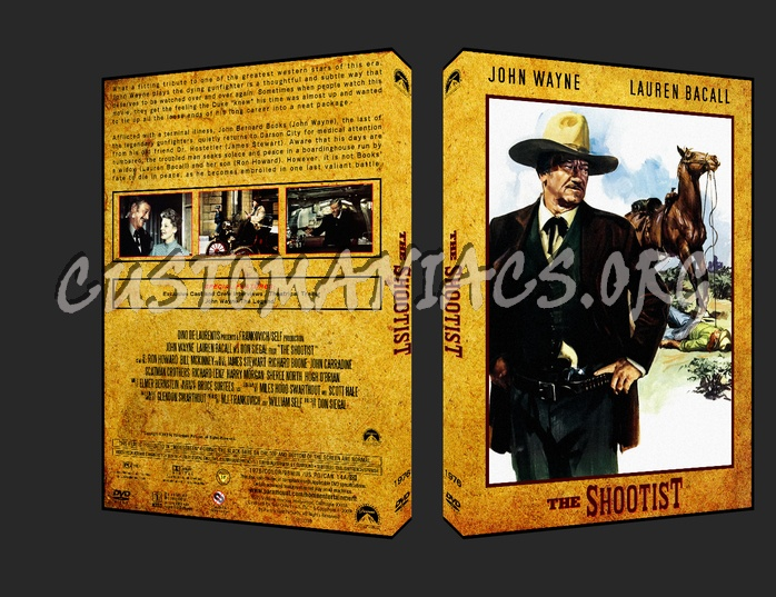 Western Collection The Shootist 1976 dvd cover