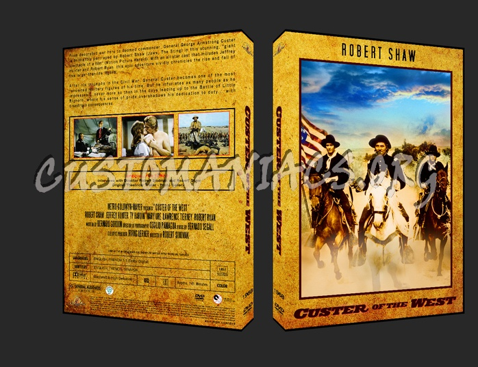 Western Collection Custer of the West 1968 dvd cover