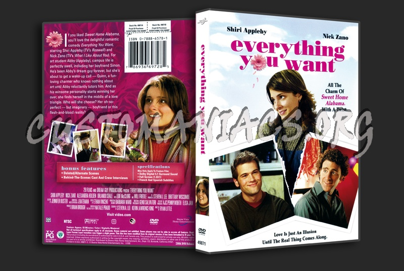Everything You Want dvd cover