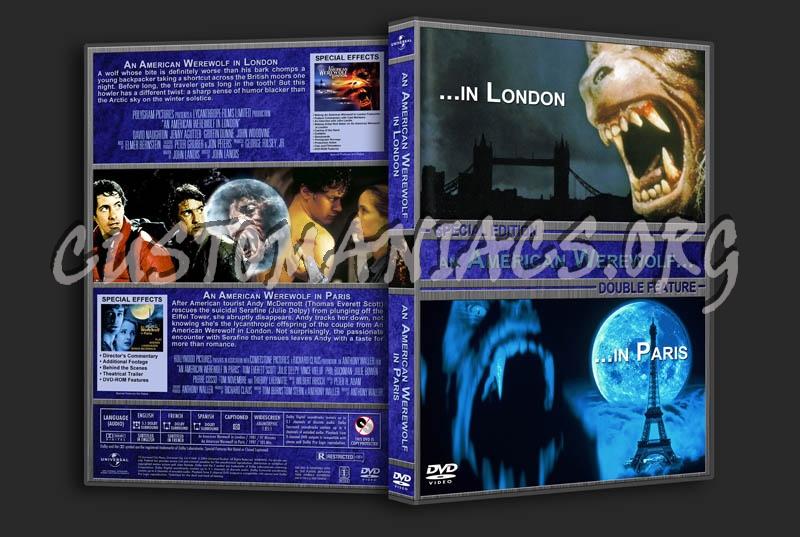 An American Werewolf in London/An American Werewolf in Paris Double dvd cover