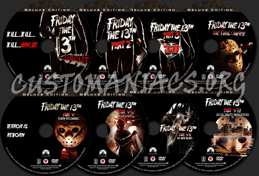 Update on friday the 13th blu-rays and boxset friday the 13th.
