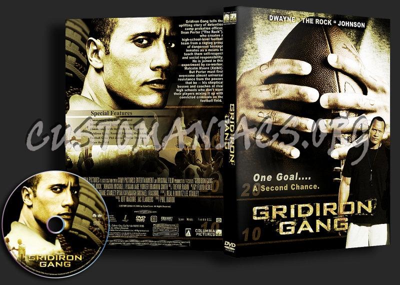 Gridiron Gang dvd cover