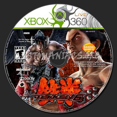 Tekken 6 Dvd Label Dvd Covers Labels By Customaniacs Id