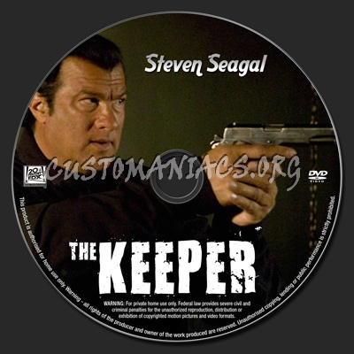 The Keeper dvd label