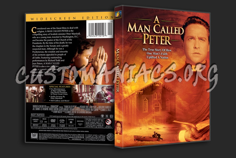 A Man Called Peter dvd cover