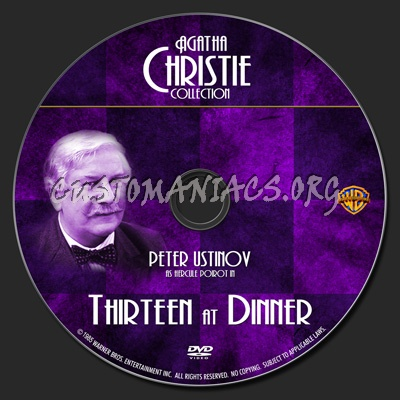 Thirteen at Dinner dvd label - DVD Covers & Labels by ...