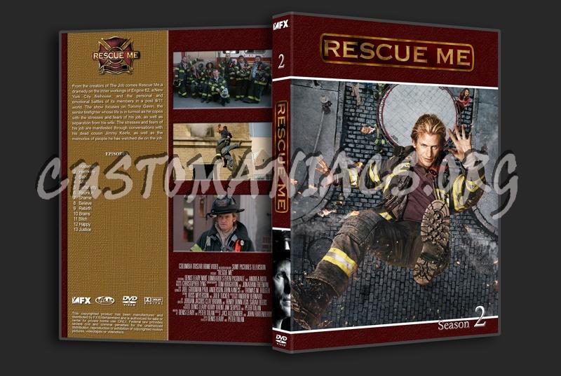 Rescue Me dvd cover