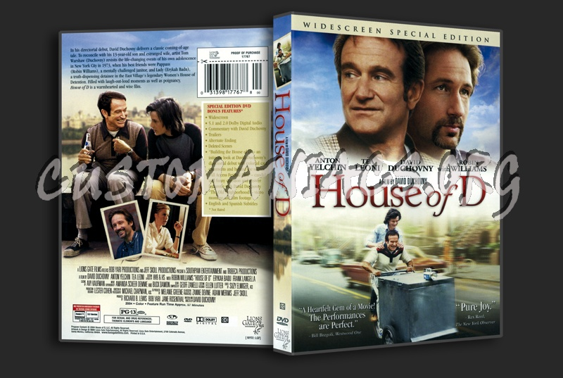House Of D dvd cover