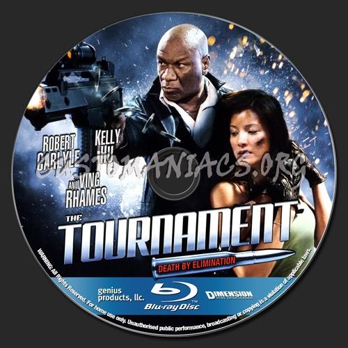 The Tournament blu-ray label