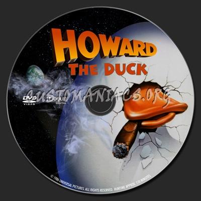Howard The Duck dvd label