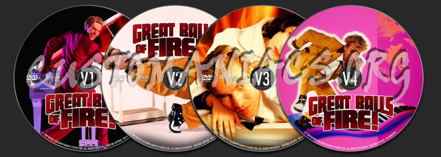 Great Balls Of Fire dvd label