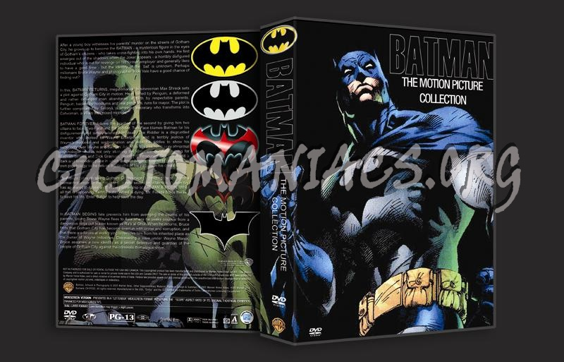 Batman The Motion Picture Collection copy dvd cover