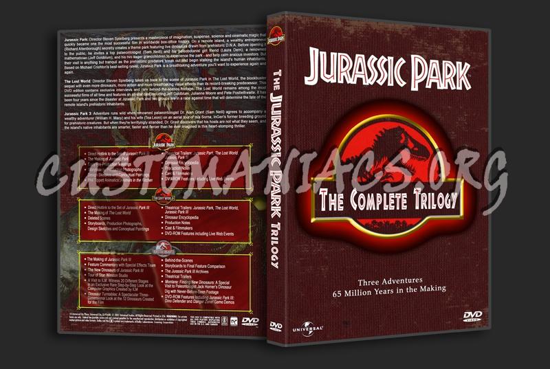 Jurassic Park Trilogy dvd cover