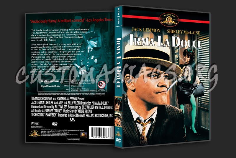 Irma La Douce dvd cover