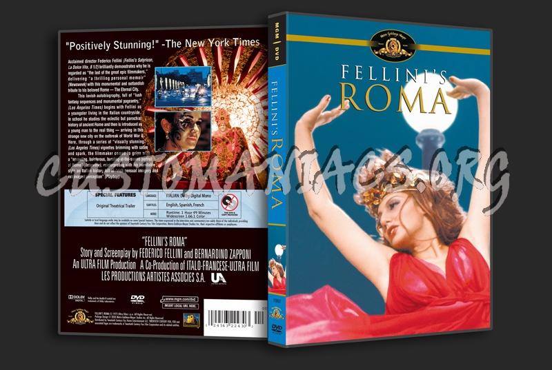 Fellini's Roma dvd cover