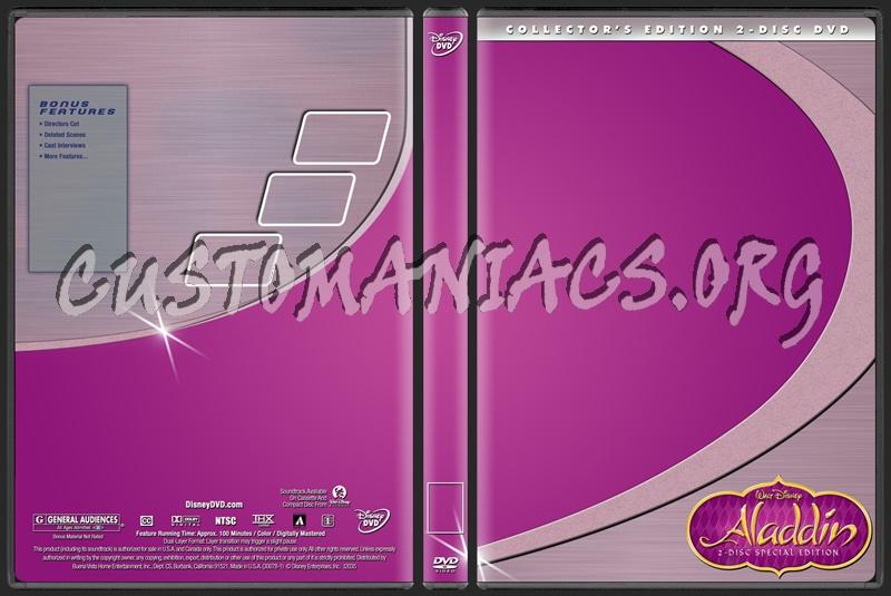 Disney Collectors Template dvd label