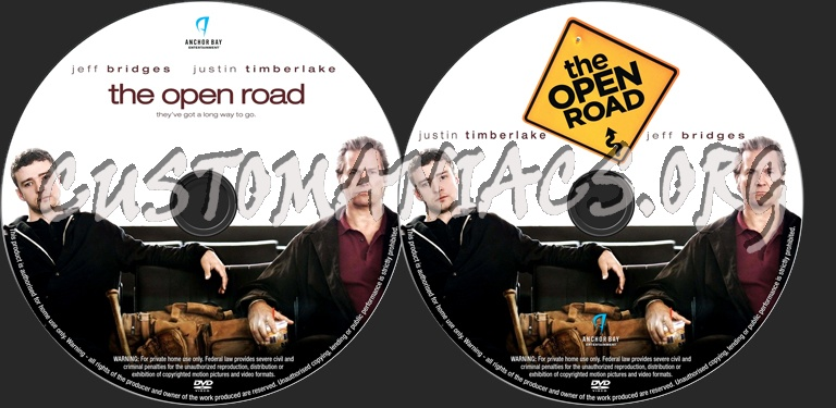 The Open Road dvd label