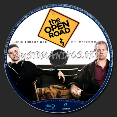 The Open Road blu-ray label