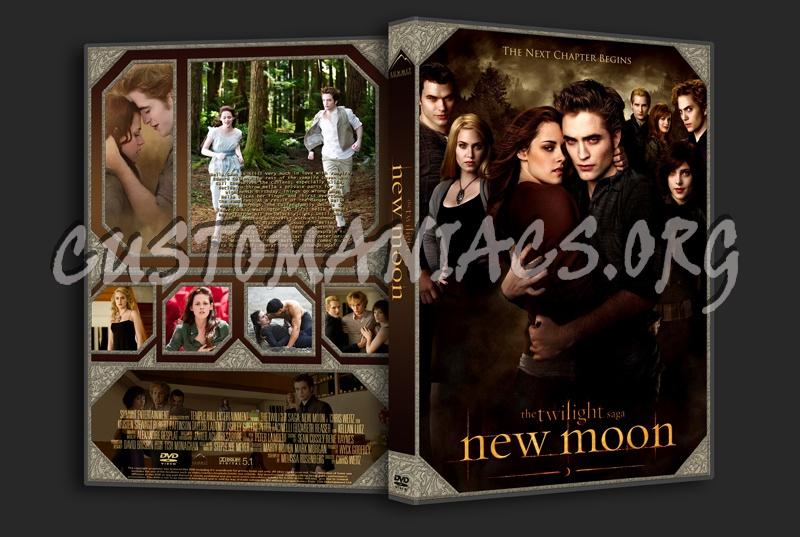 The Twilight Saga: New Moon dvd cover