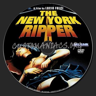 New York Ripper dvd label