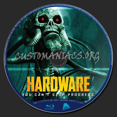 Hardware blu-ray label