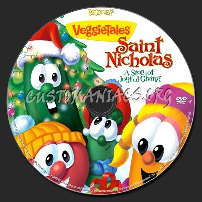 Veggietales Saint Nicholas dvd label