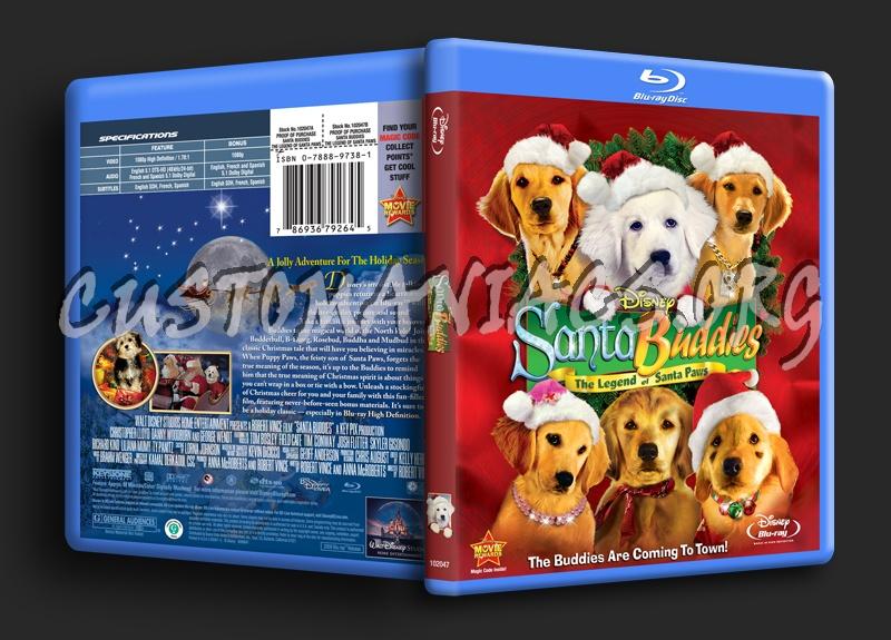Santa Buddies blu-ray cover