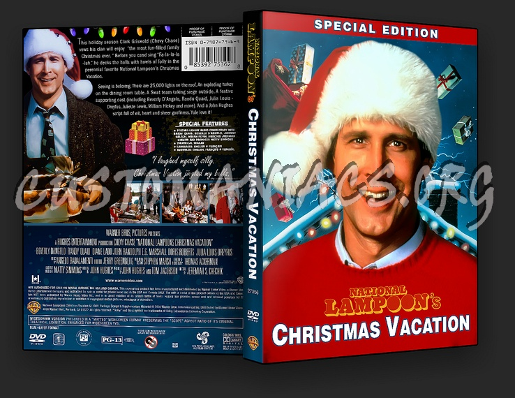 national lampoons christmas vacation dvd cover - National Lampoons Christmas Vacation Dvd