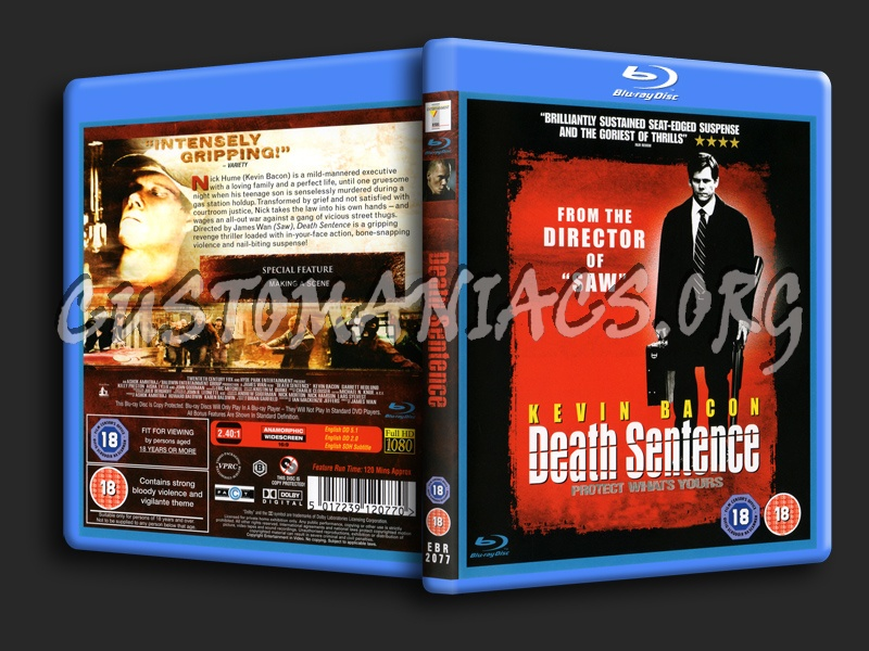 Death Sentence blu-ray cover