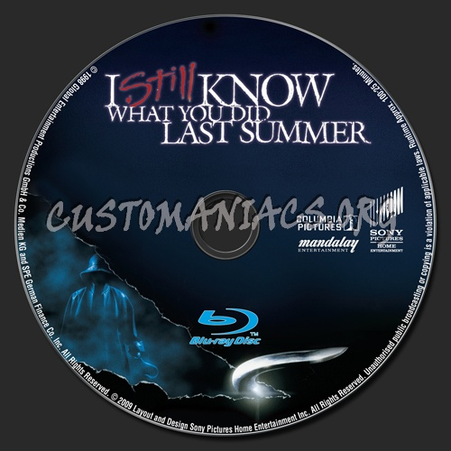 I Still Know What You Did Last Summer blu-ray label