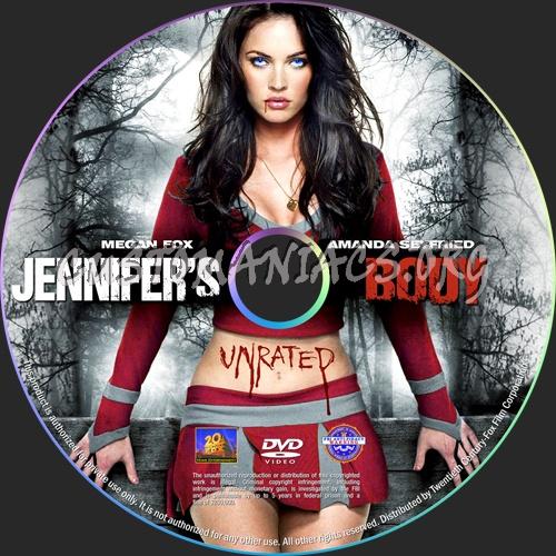 Jennifer's Body dvd label