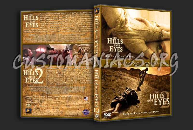 The Hills Have Eyes/The Hills Have Eyes 2 Double Feature dvd cover