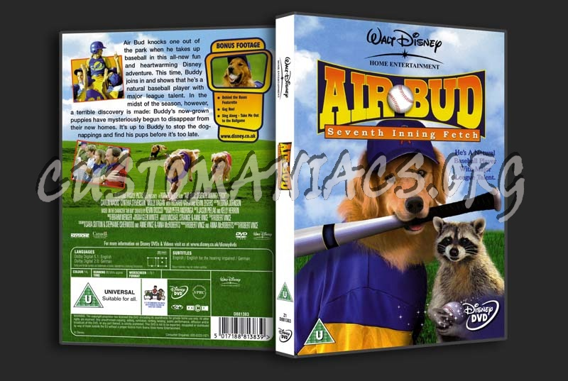 Air Bud Seven Inning Fetch dvd cover