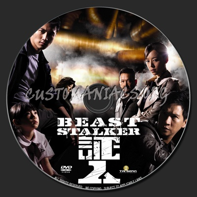 The Beast Stalker dvd label
